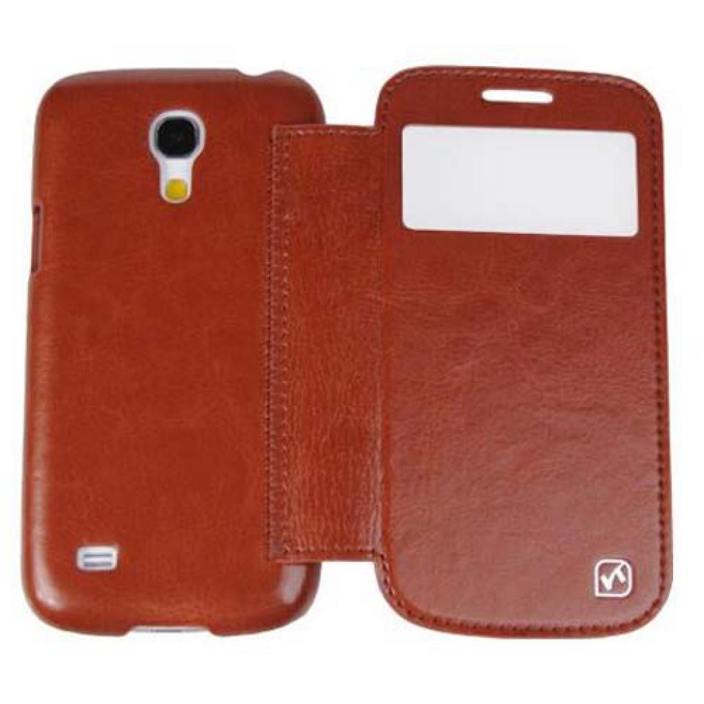 Чехол для моб. телефона HOCO для Samsung I9192 Galaxy S4 mini /Crystal s (HS-L045 Brown) изображение 5