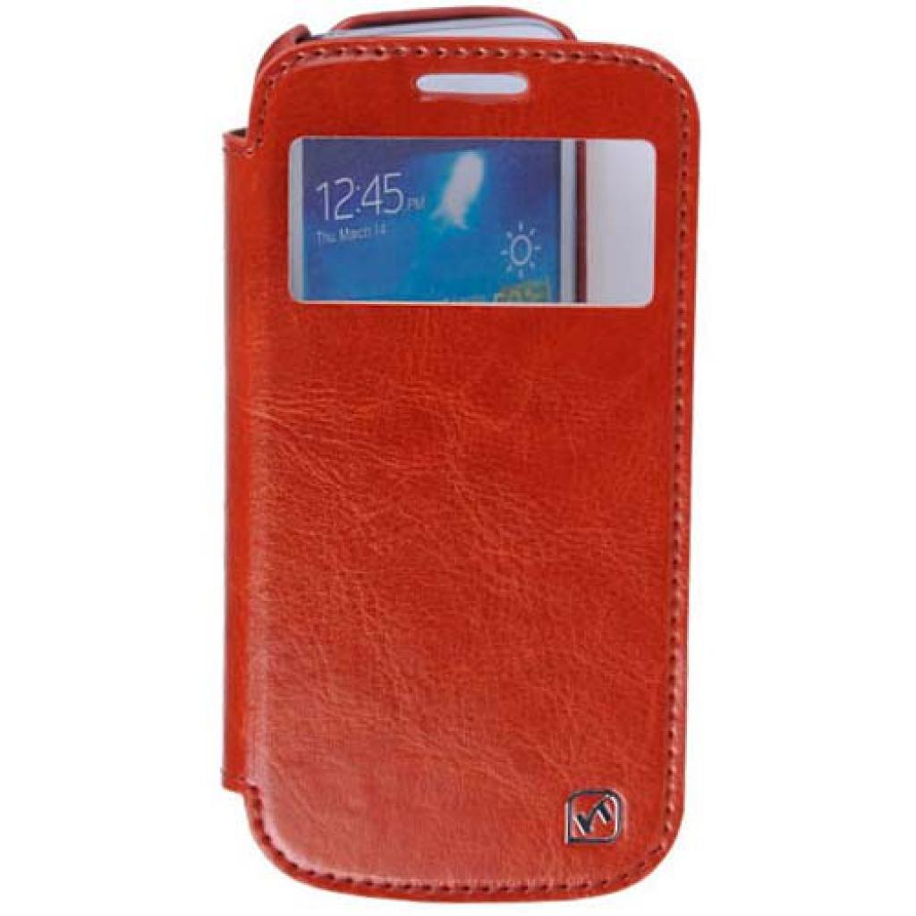Чехол для моб. телефона HOCO для Samsung I9192 Galaxy S4 mini /Crystal s (HS-L045 Brown)