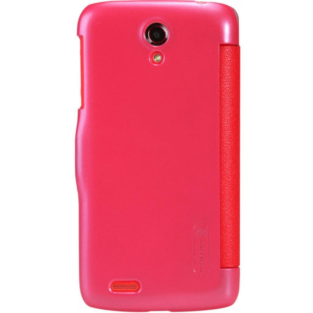 Чехол для моб. телефона NILLKIN для Lenovo S820 /Fresh/ Leather/Red (6076867) изображение 2