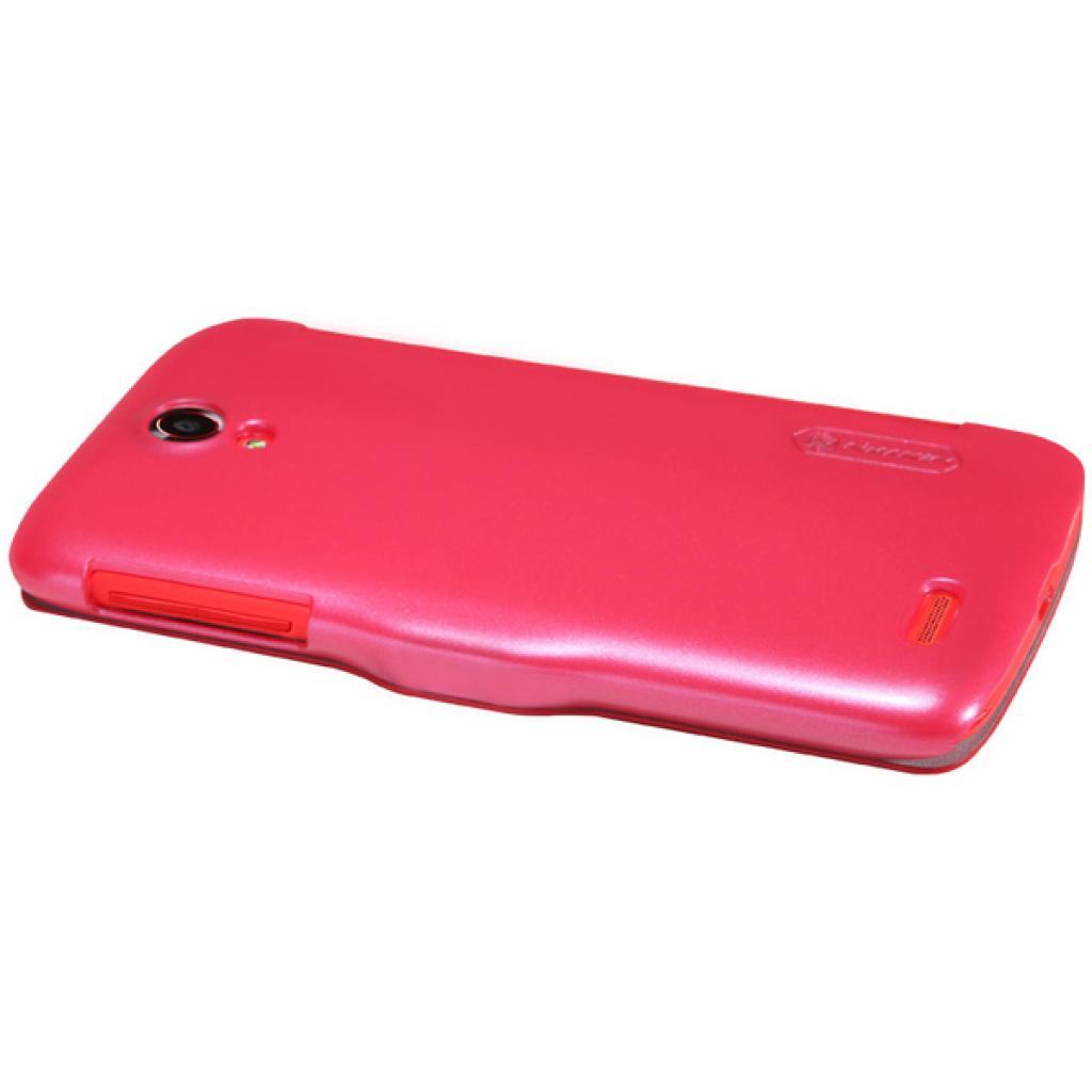 Чехол для моб. телефона NILLKIN для Lenovo S820 /Fresh/ Leather/Red (6076867) изображение 4