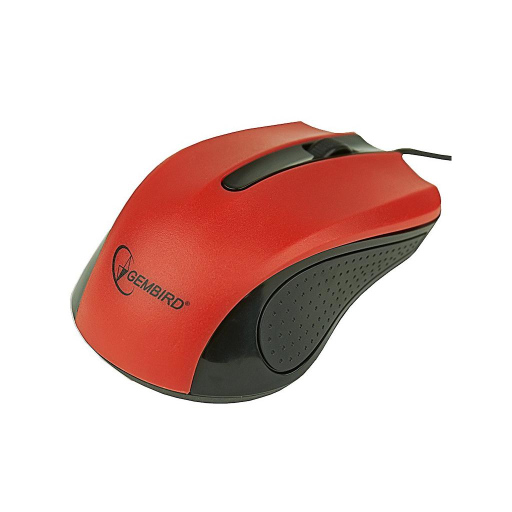 Мышка GEMBIRD MUS-101-R изображение 3