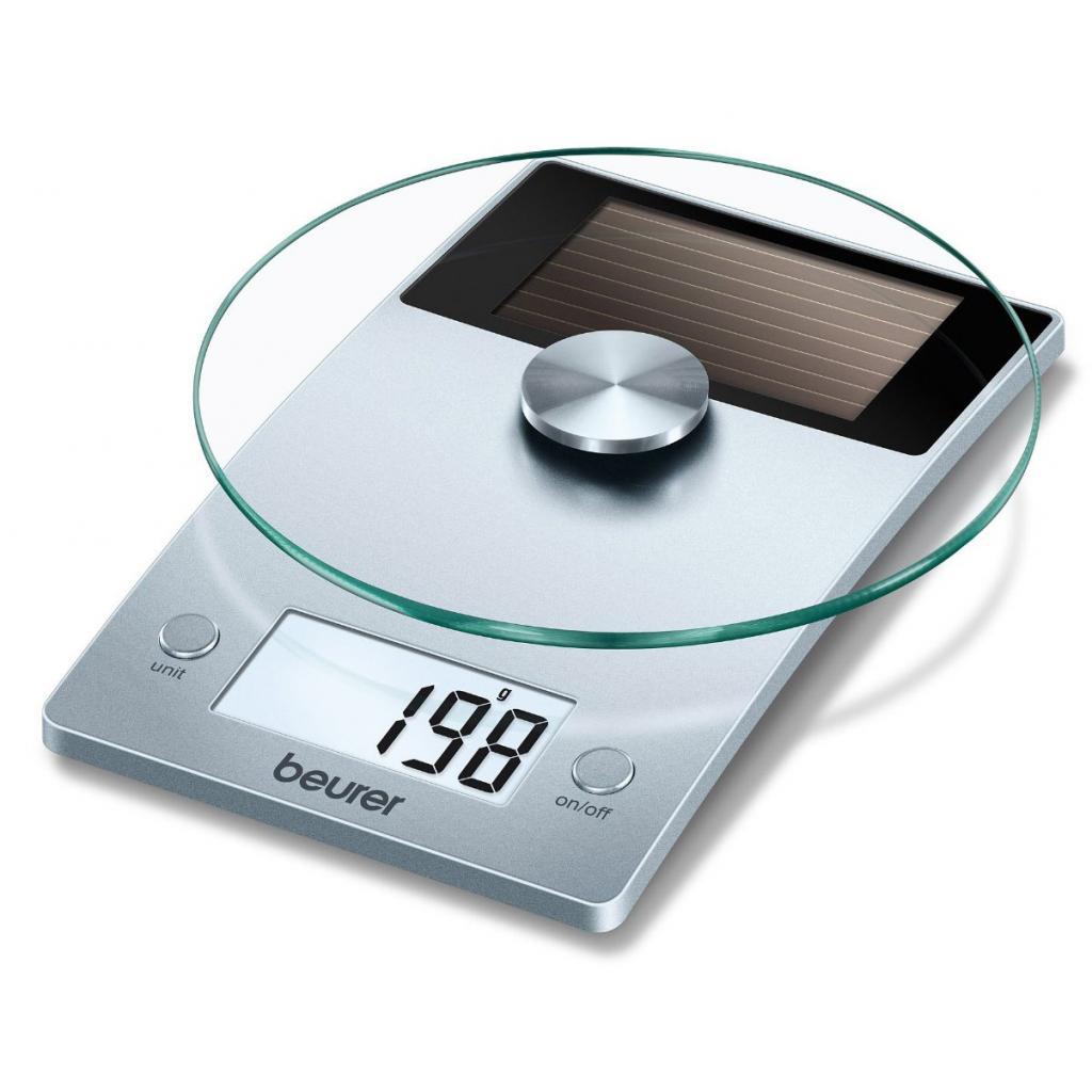Весы кухонные BEURER KS 39 Solar (4211125/708.15/3)
