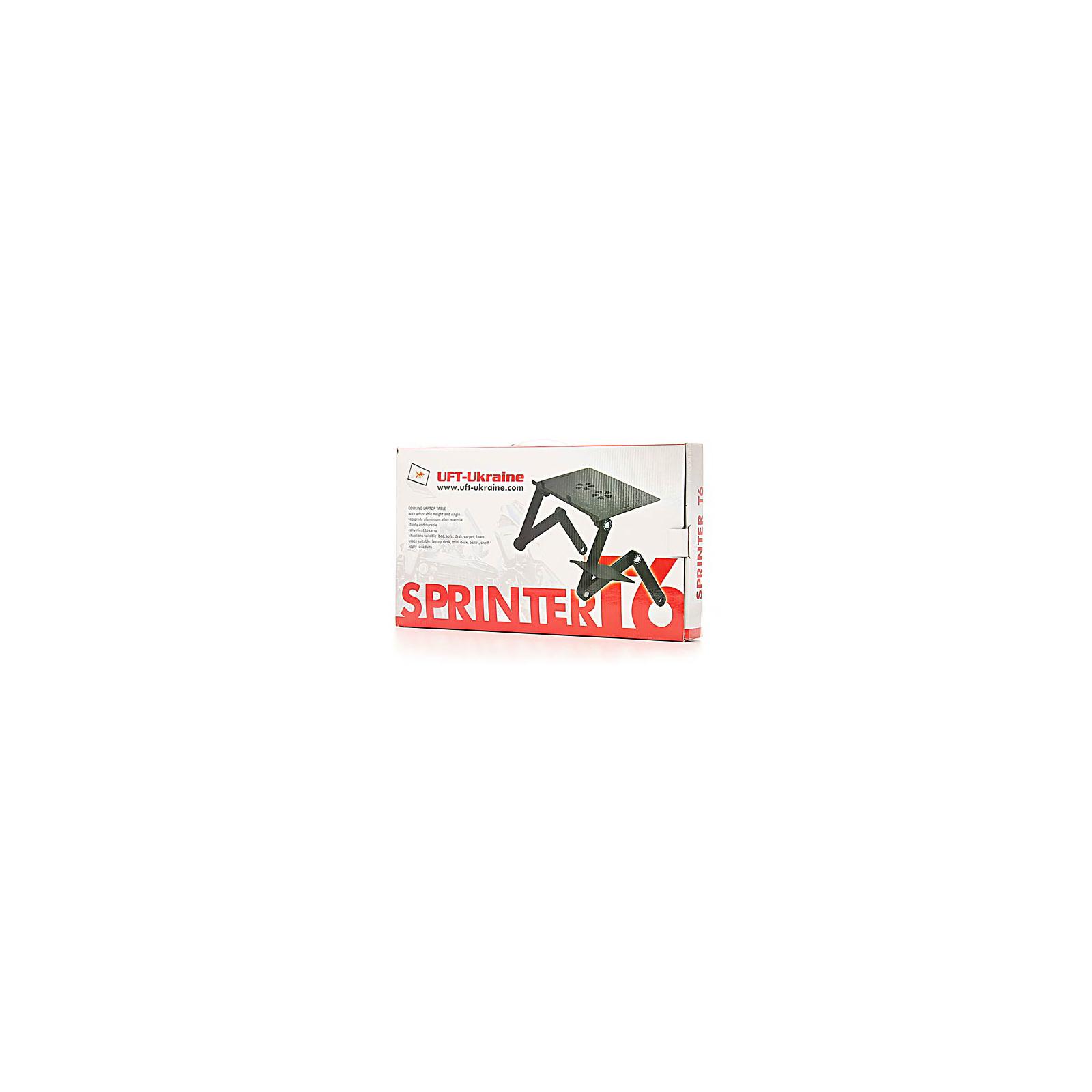 Подставка для ноутбука UFT Sprinter T6 Silver изображение 5