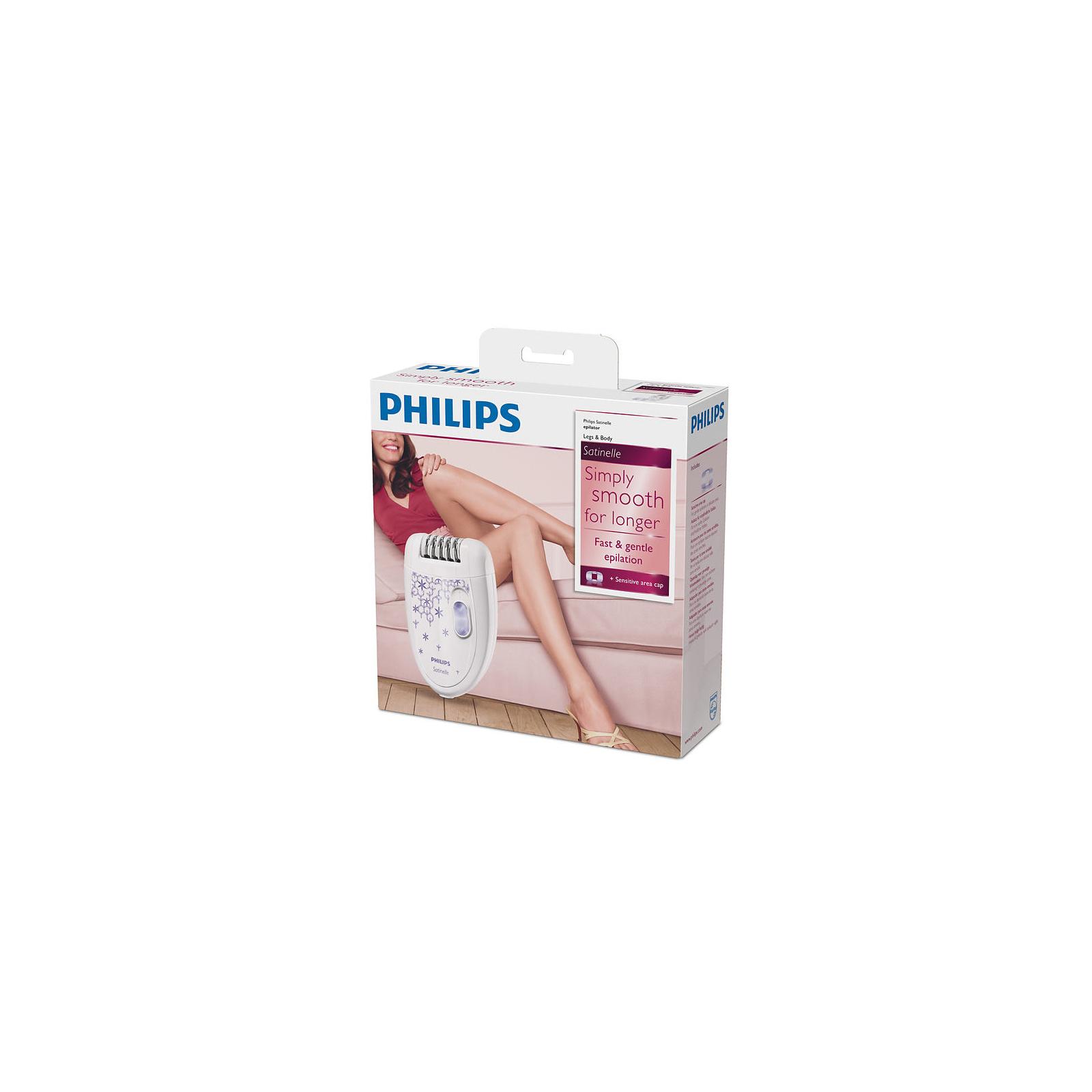 Эпилятор PHILIPS HP 6421 (HP6421/00) изображение 4
