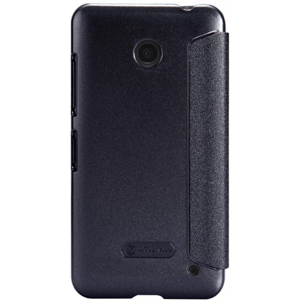 Чехол для моб. телефона NILLKIN для Nokia Lumia 630 /Spark/ Leather/Black (6164347) изображение 5