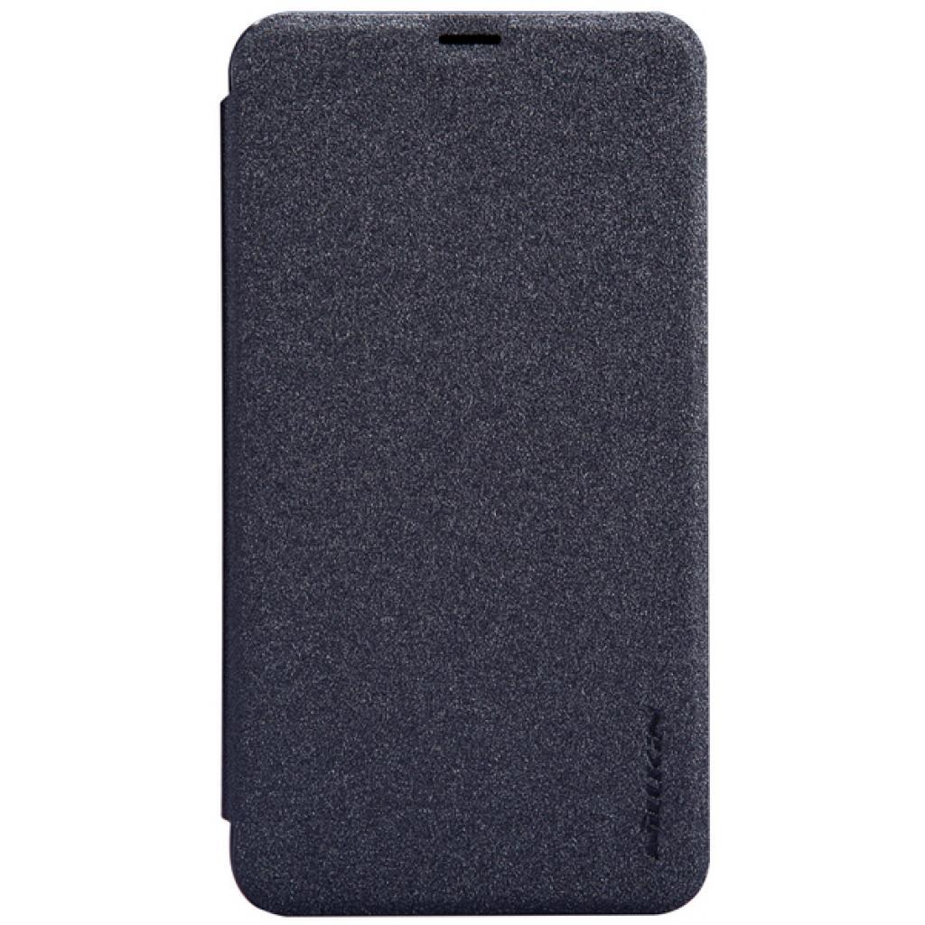 Чехол для моб. телефона NILLKIN для Nokia Lumia 630 /Spark/ Leather/Black (6164347)