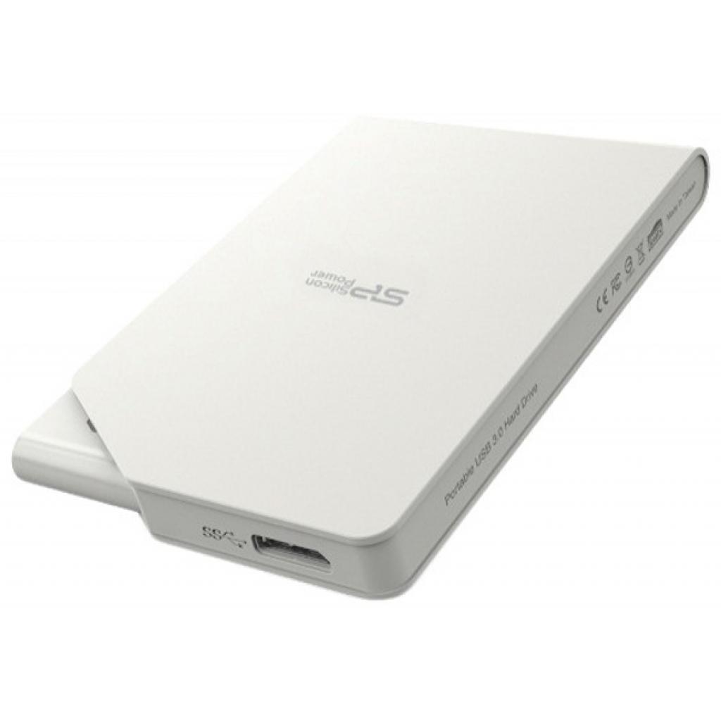 """Внешний жесткий диск 2.5"""" 500GB Silicon Power (SP500GBPHDS03S3W) изображение 2"""
