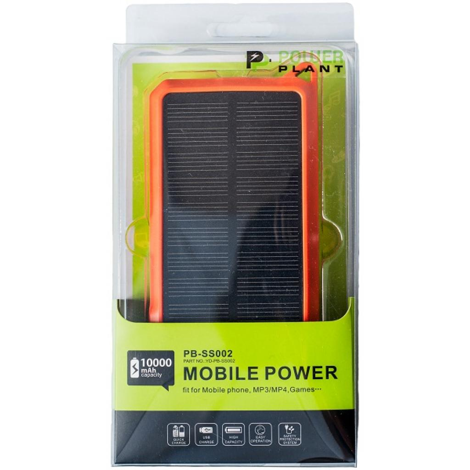 Батарея универсальная PowerPlant PB-SS002 10000mAh (PB-SS002) изображение 6