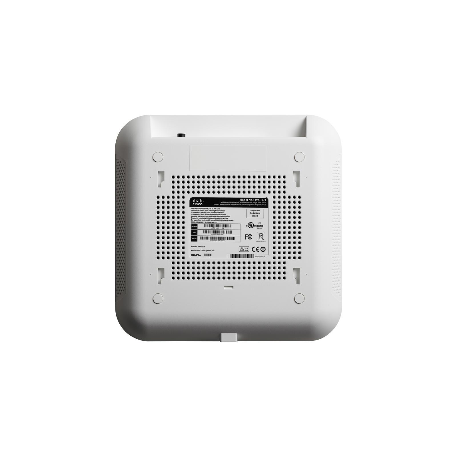 Точка доступа Wi-Fi Cisco WAP371 (WAP371-E-K9) изображение 2