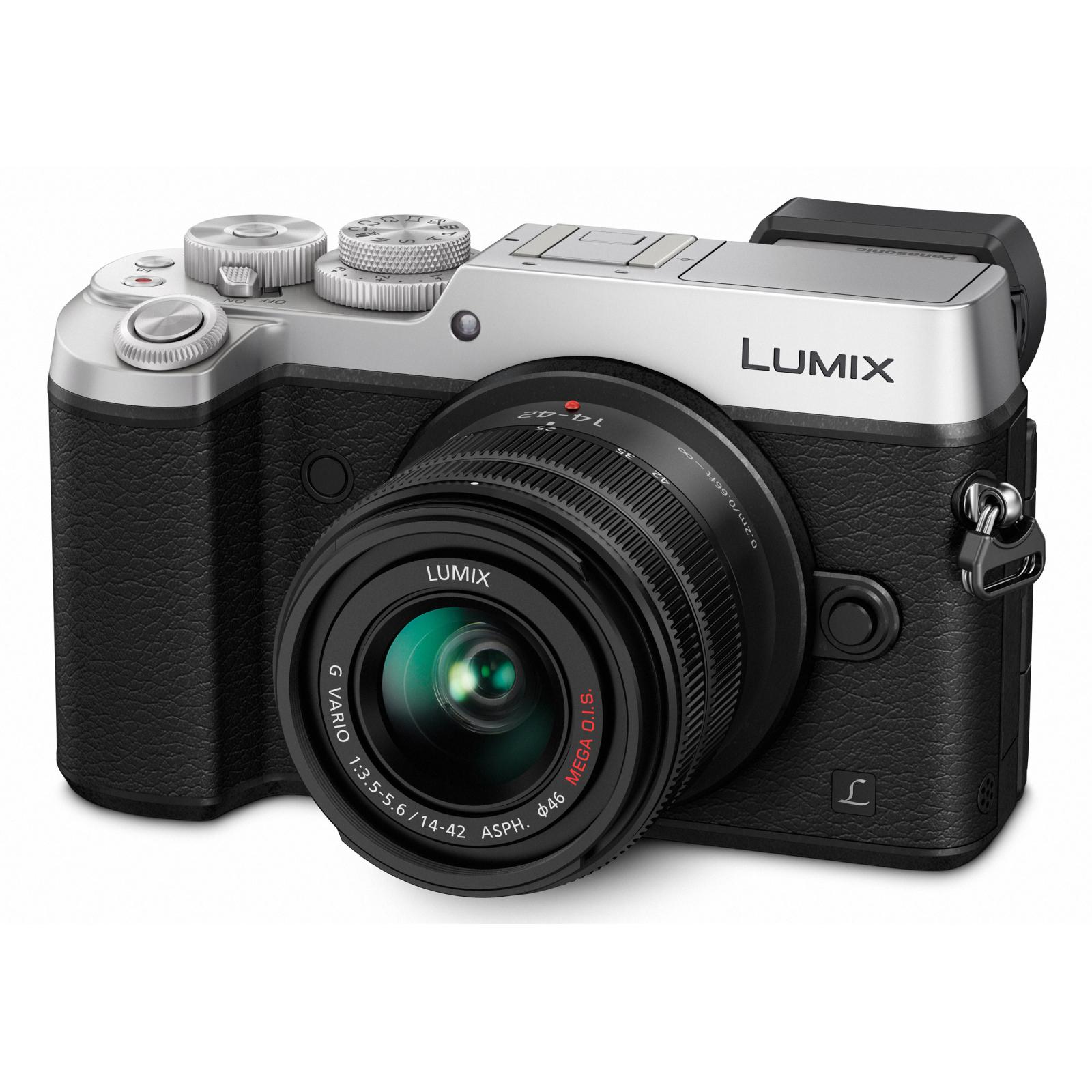 Цифровой фотоаппарат PANASONIC DMC-GX8 Kit 14-42mm (DMC-GX8KEE-S)