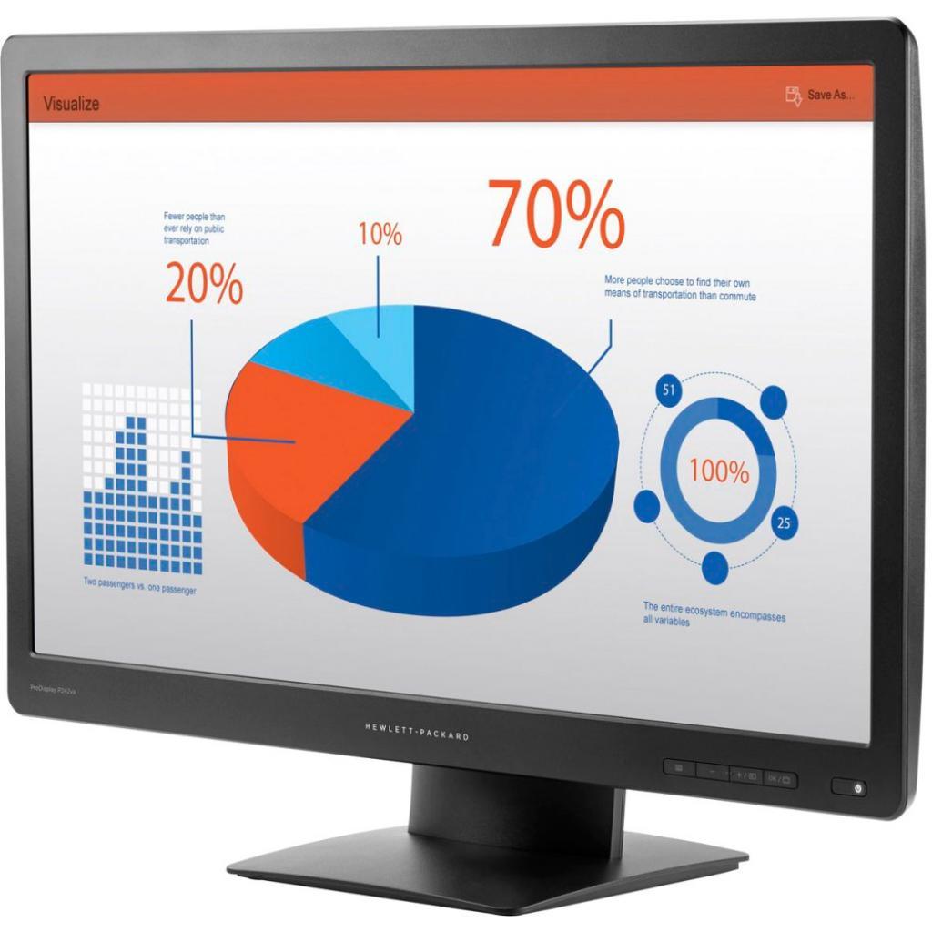 Монитор HP ProDisplay P242va (K7X32AA) изображение 3