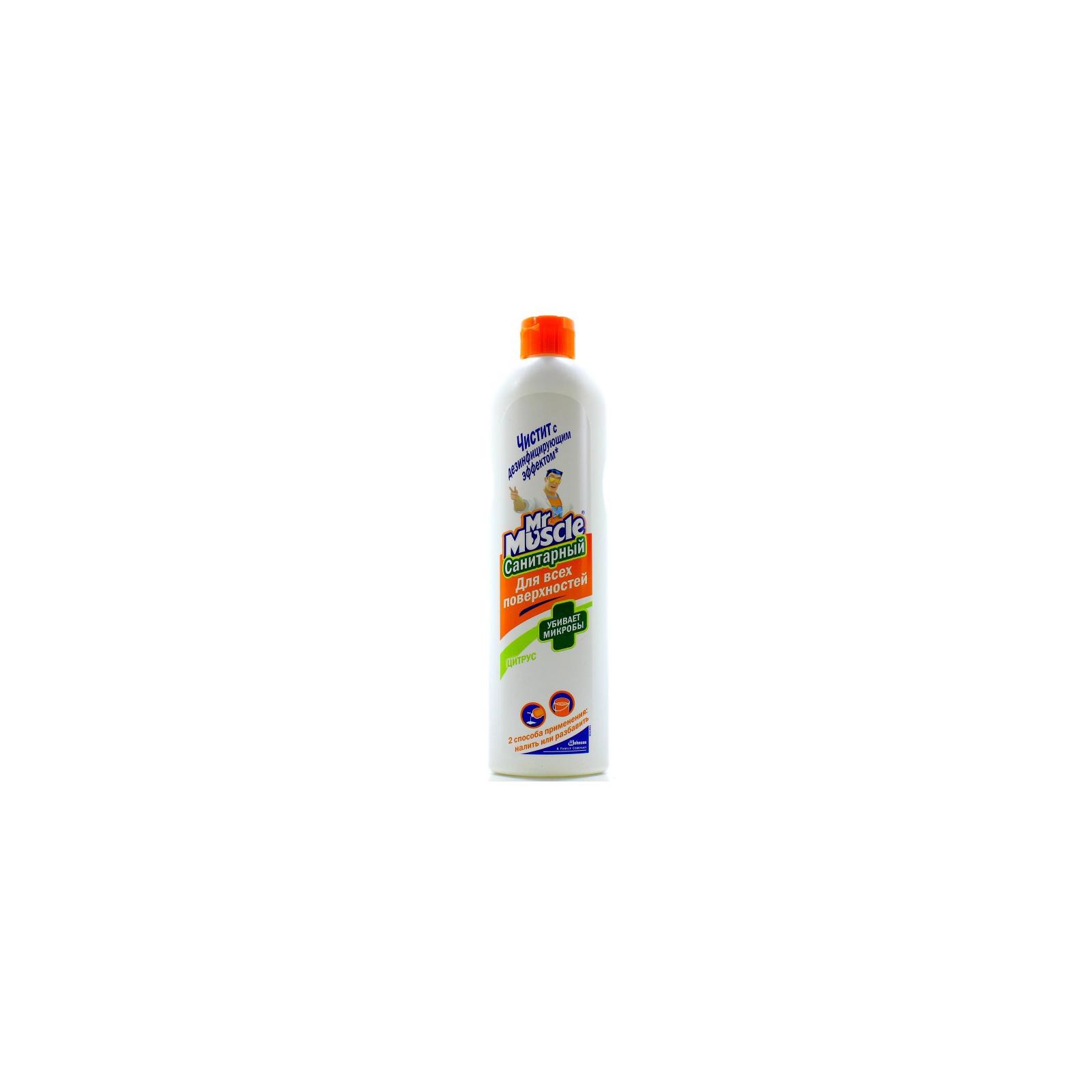 Чистящее средство Мистер Мускул для всех поверхностей Санитарный 500 мл (4823002004533)