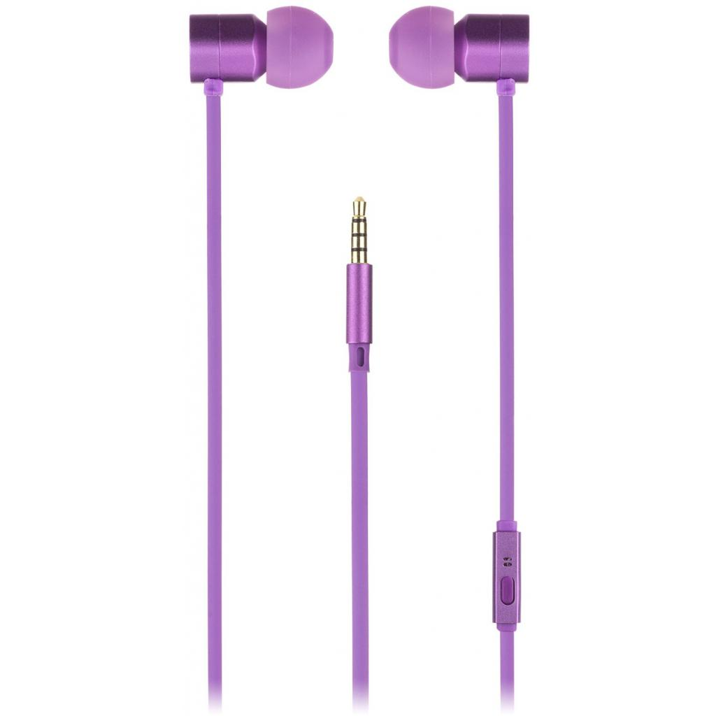 Наушники KitSound KS Hive Buds Earphones with Mic Purple (KSHIVBPU) изображение 4