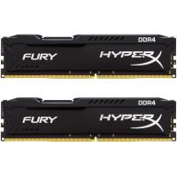 Модуль памяти для компьютера DDR4 16GB (2x8GB) 2400 MHz HyperX FURY Black Kingston (HX424C15FB2K2/16)