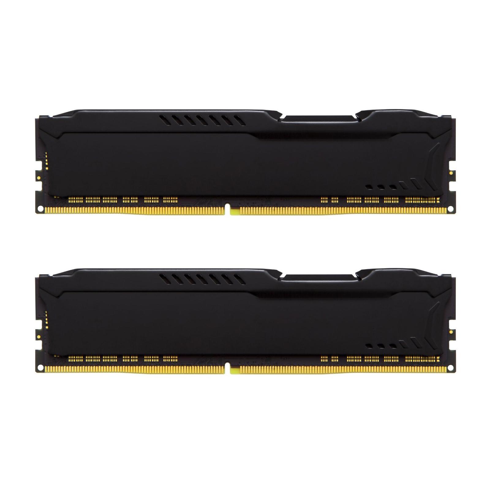 Модуль памяти для компьютера DDR4 16GB (2x8GB) 2400 MHz HyperX FURY Black Kingston (HX424C15FB2K2/16) изображение 3