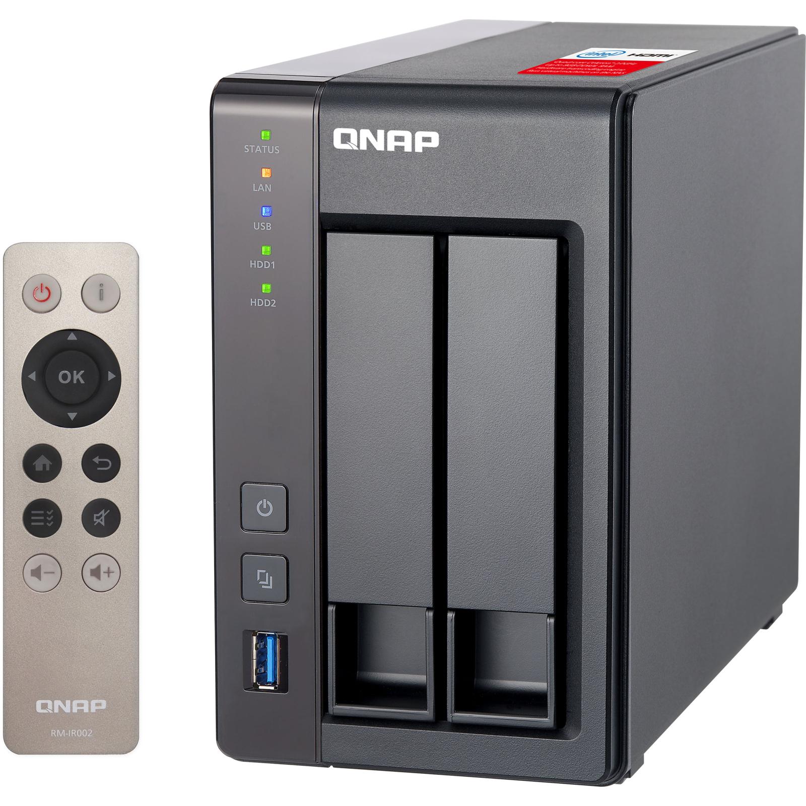 NAS QNap TS-251+ изображение 3