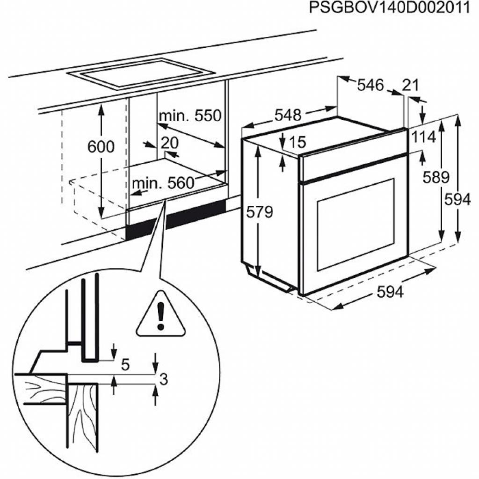 Духовой шкаф ELECTROLUX EOB 95450 AV (EOB95450AV) изображение 2