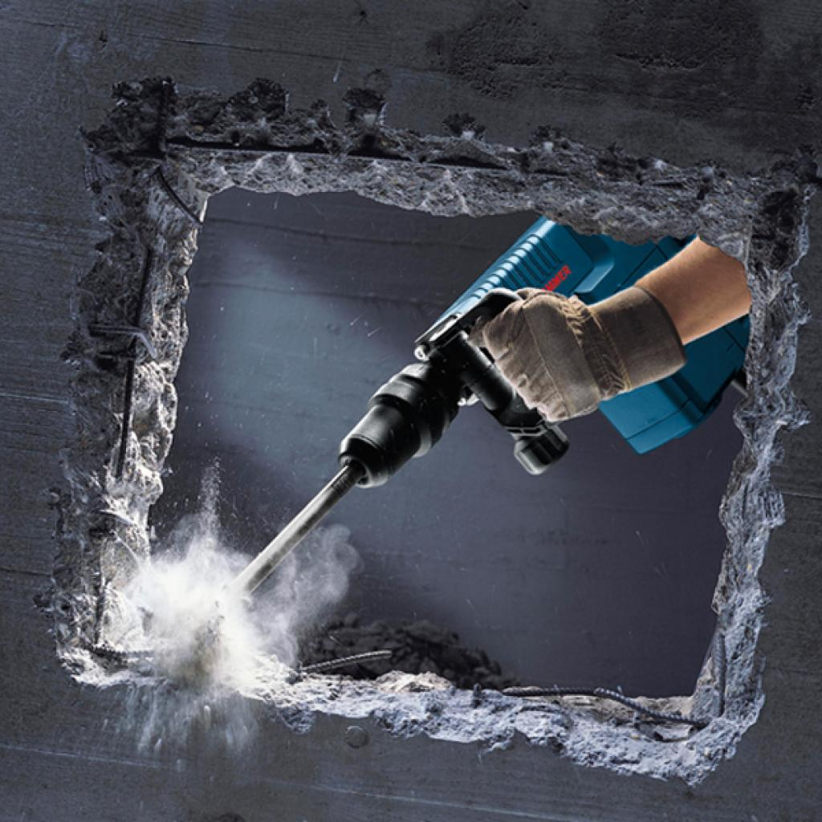 Отбойный молоток Bosch GSH 11E (0.611.316.708) изображение 4