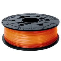 Пластик для 3D-принтера XYZprinting PLA(NFC) 1.75мм/0.6кг Filament, Clear Orange (RFPLCXEU07B)