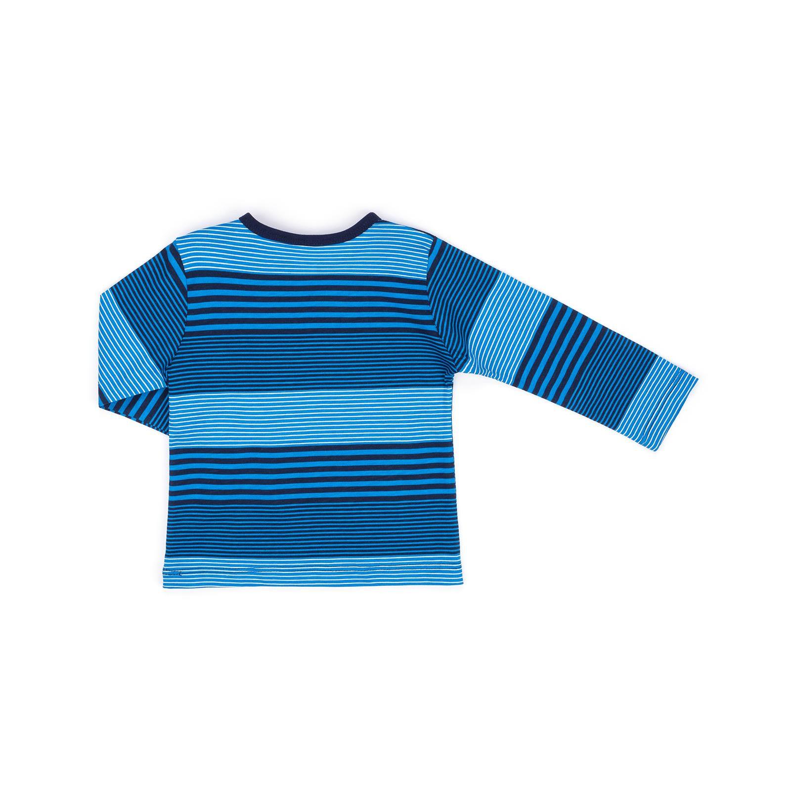 Кофта Breeze в полосочку (3332-92B-blue) изображение 2