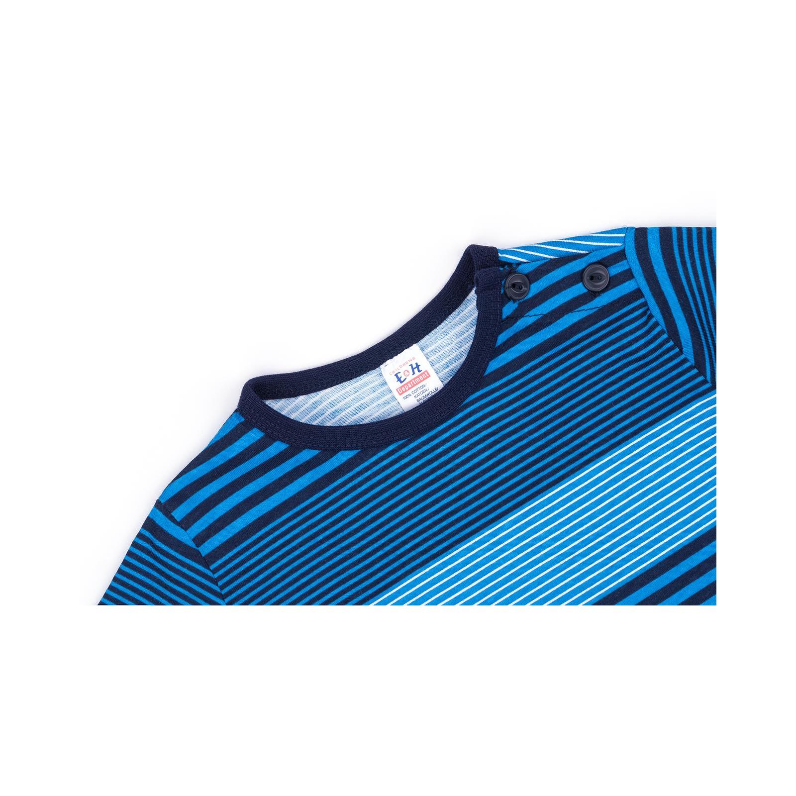 Кофта Breeze в полосочку (3332-92B-blue) изображение 3