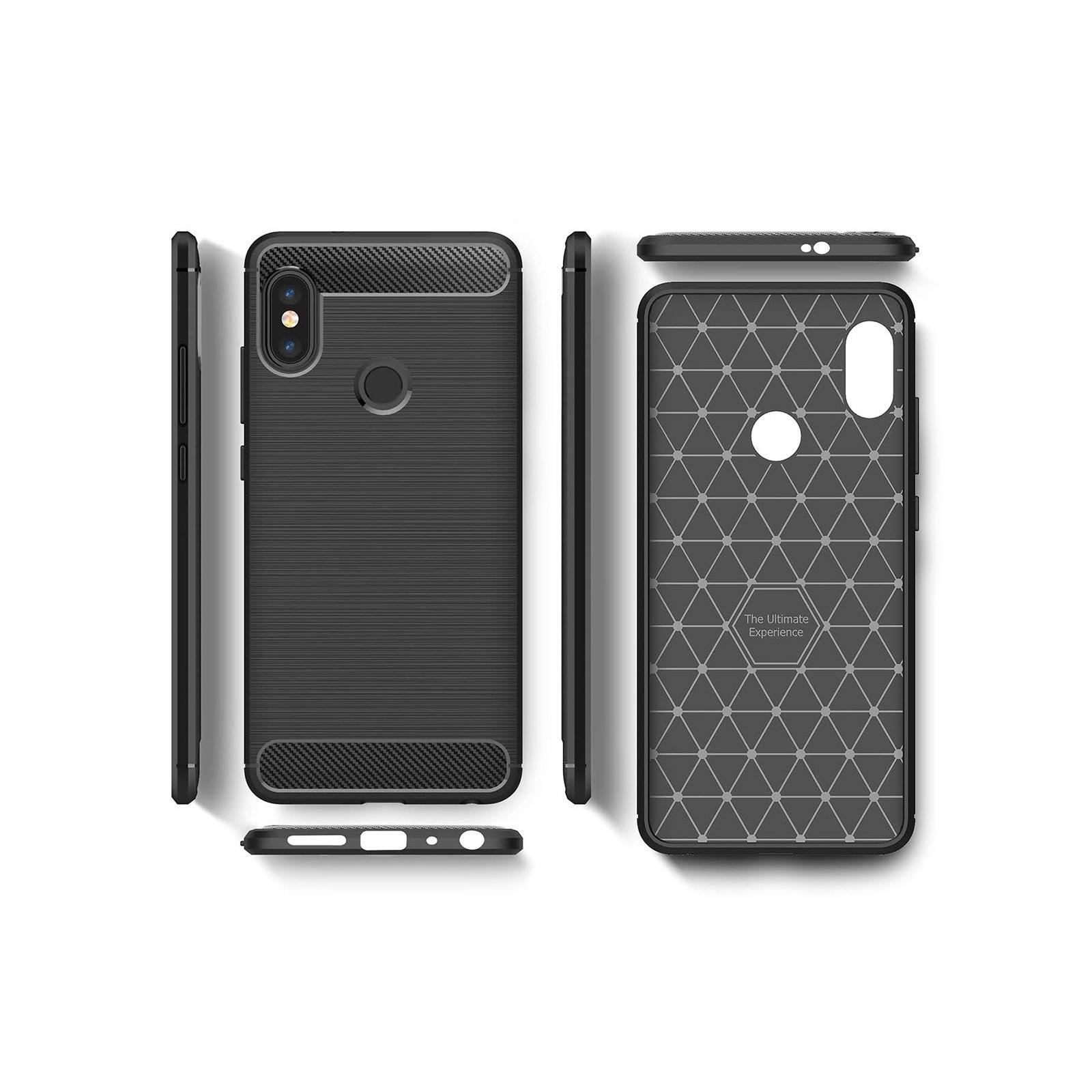Чехол для моб. телефона Laudtec для XiaomiRedmi Note 5 Pro Carbon Fiber (Black) (LT-RN5PB) изображение 4