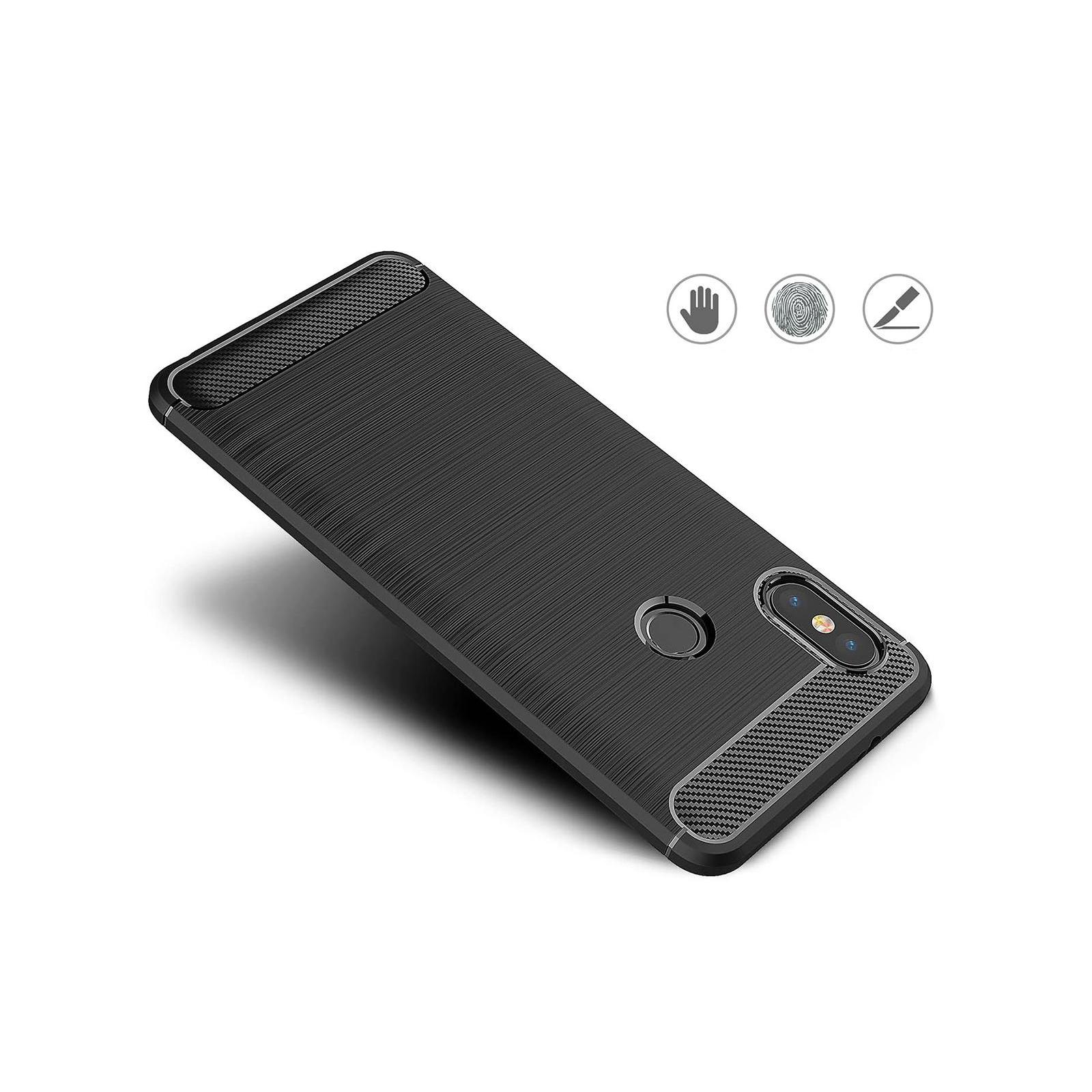 Чехол для моб. телефона Laudtec для XiaomiRedmi Note 5 Pro Carbon Fiber (Black) (LT-RN5PB) изображение 7