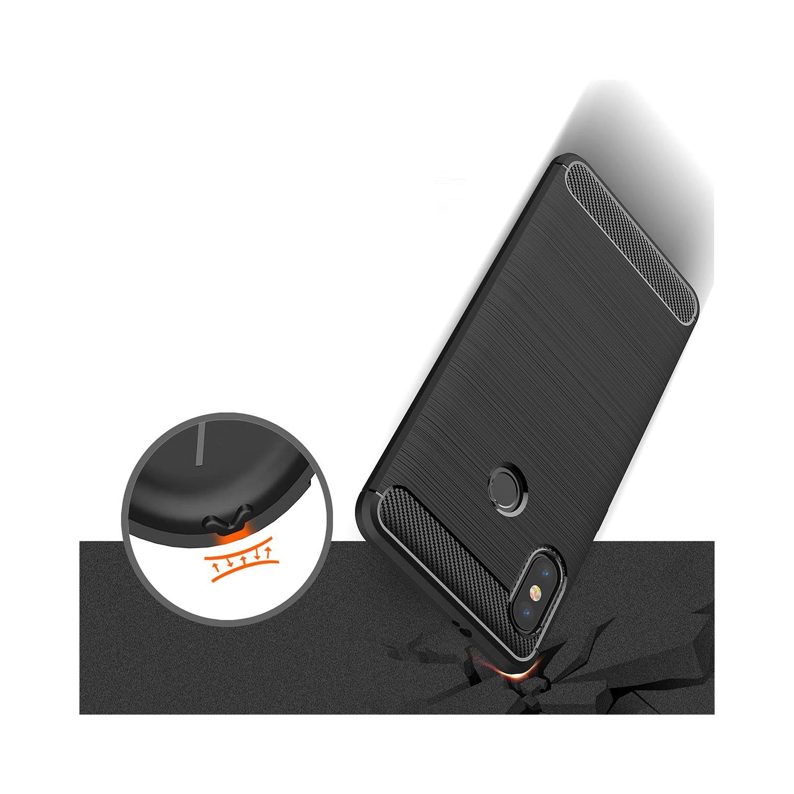 Чехол для моб. телефона Laudtec для XiaomiRedmi Note 5 Pro Carbon Fiber (Black) (LT-RN5PB) изображение 8