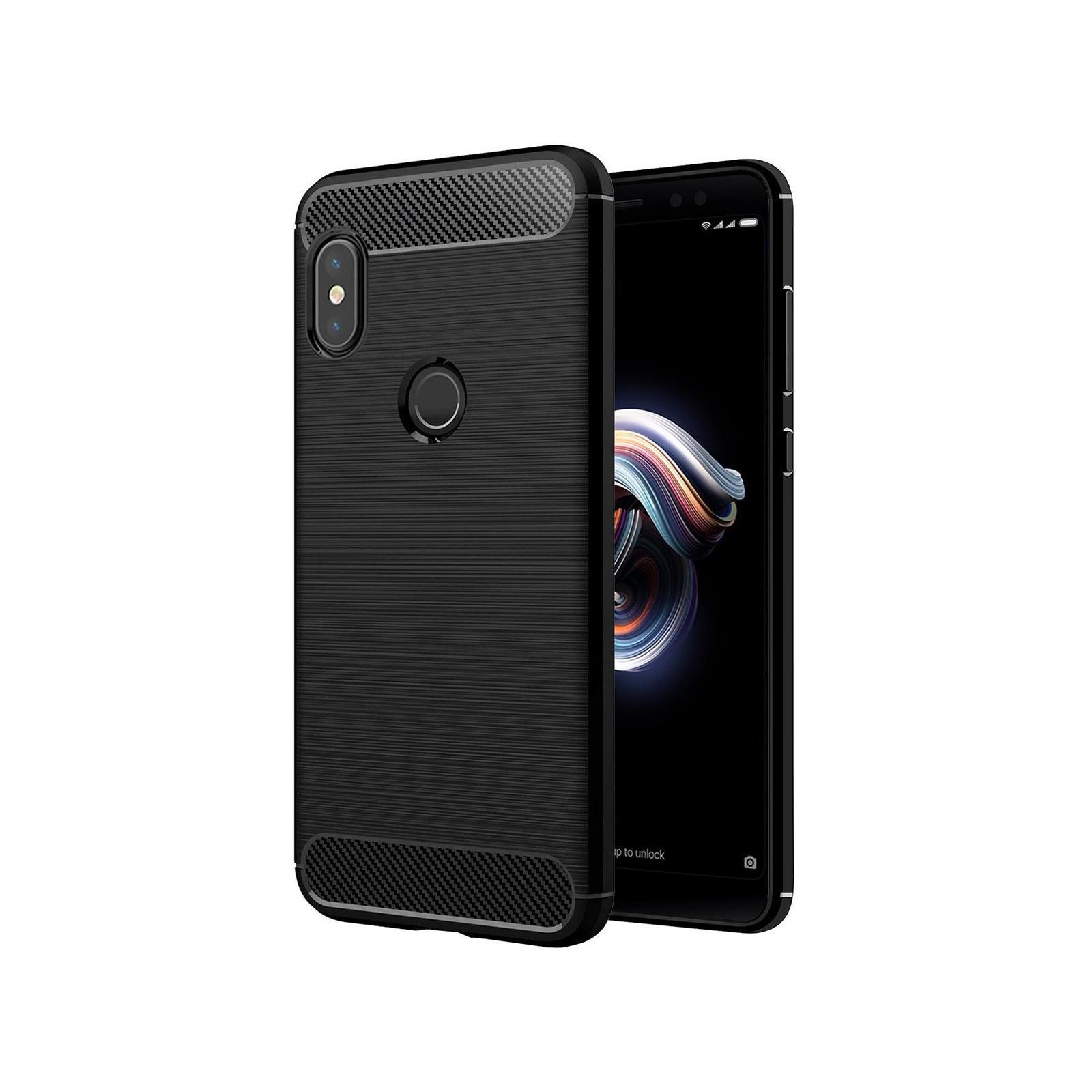 Чехол для моб. телефона Laudtec для XiaomiRedmi Note 5 Pro Carbon Fiber (Black) (LT-RN5PB)