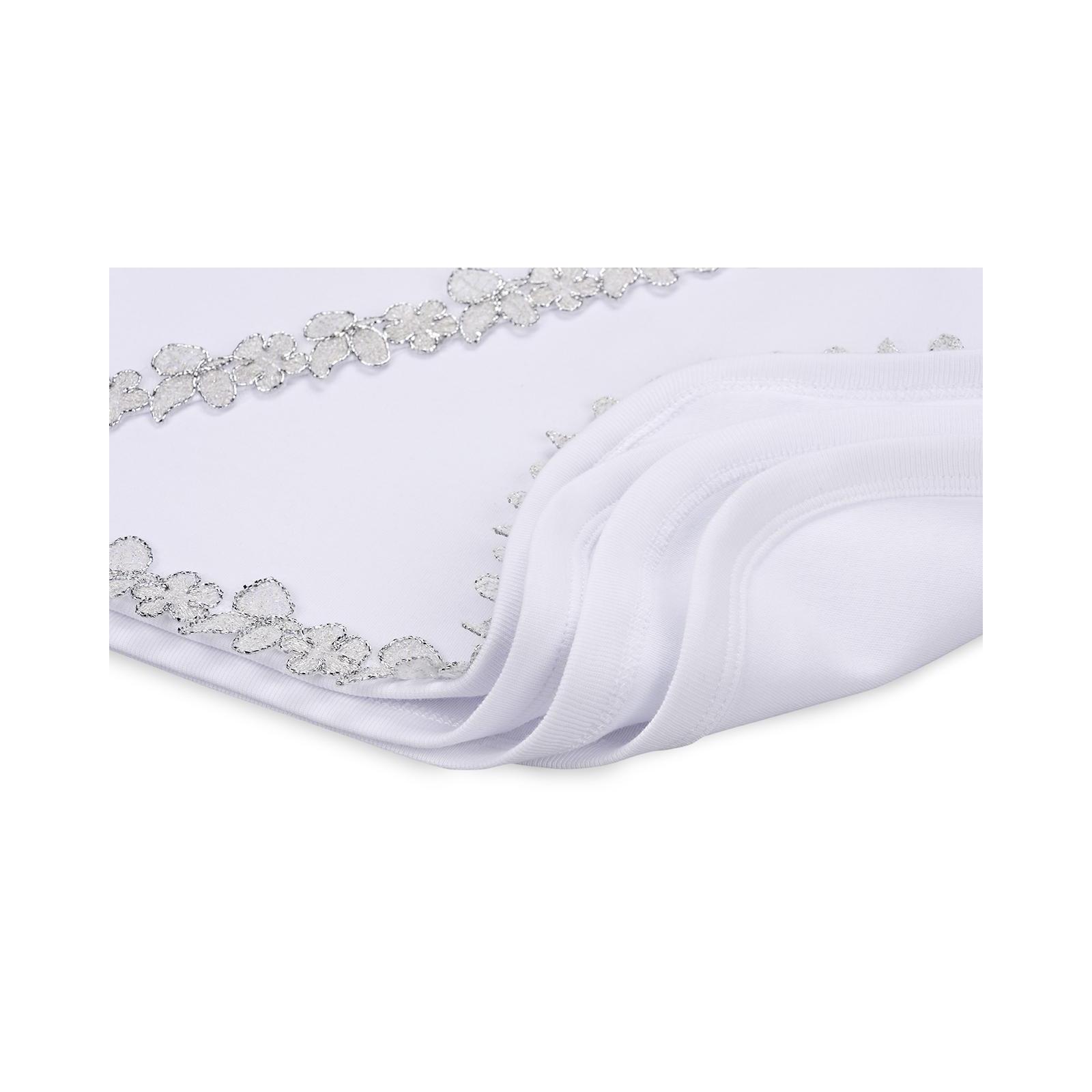 Крыжма Интеркидс с серебряной тесьмой (2456-white) изображение 4