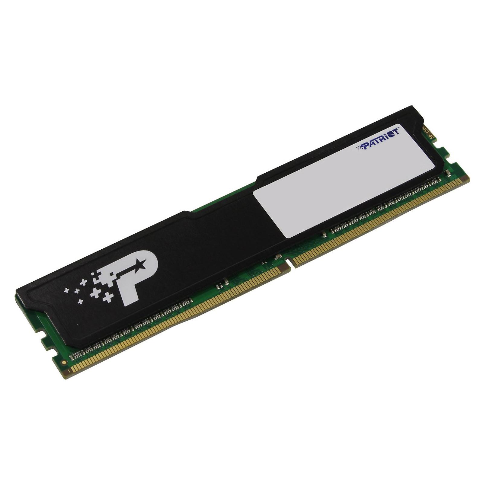 Модуль памяти для компьютера DDR4 16GB 2666 MHz Patriot (PSD416G26662H) изображение 2