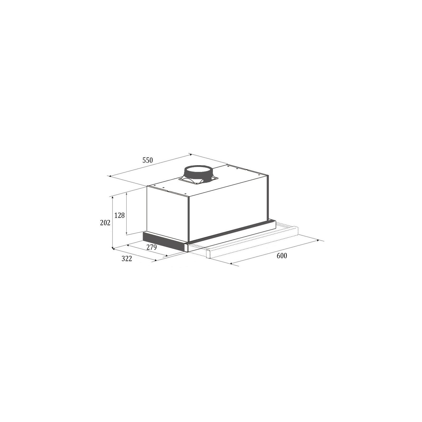 Вытяжка кухонная GUNTER&HAUER AGNA 600 GLW изображение 7