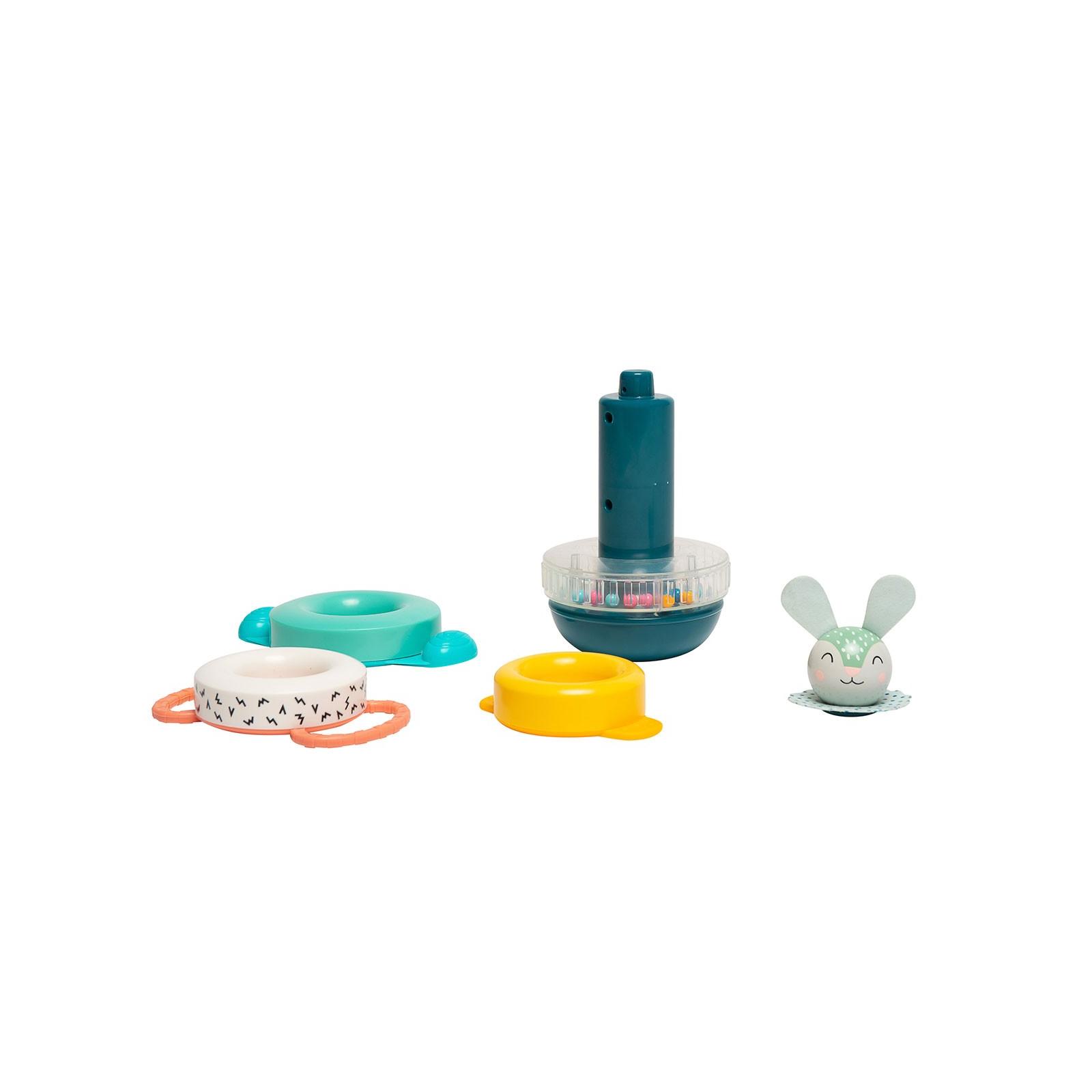 Развивающая игрушка Taf Toys пирамидка Кролик коллекция Полярное сияние (12445) изображение 2
