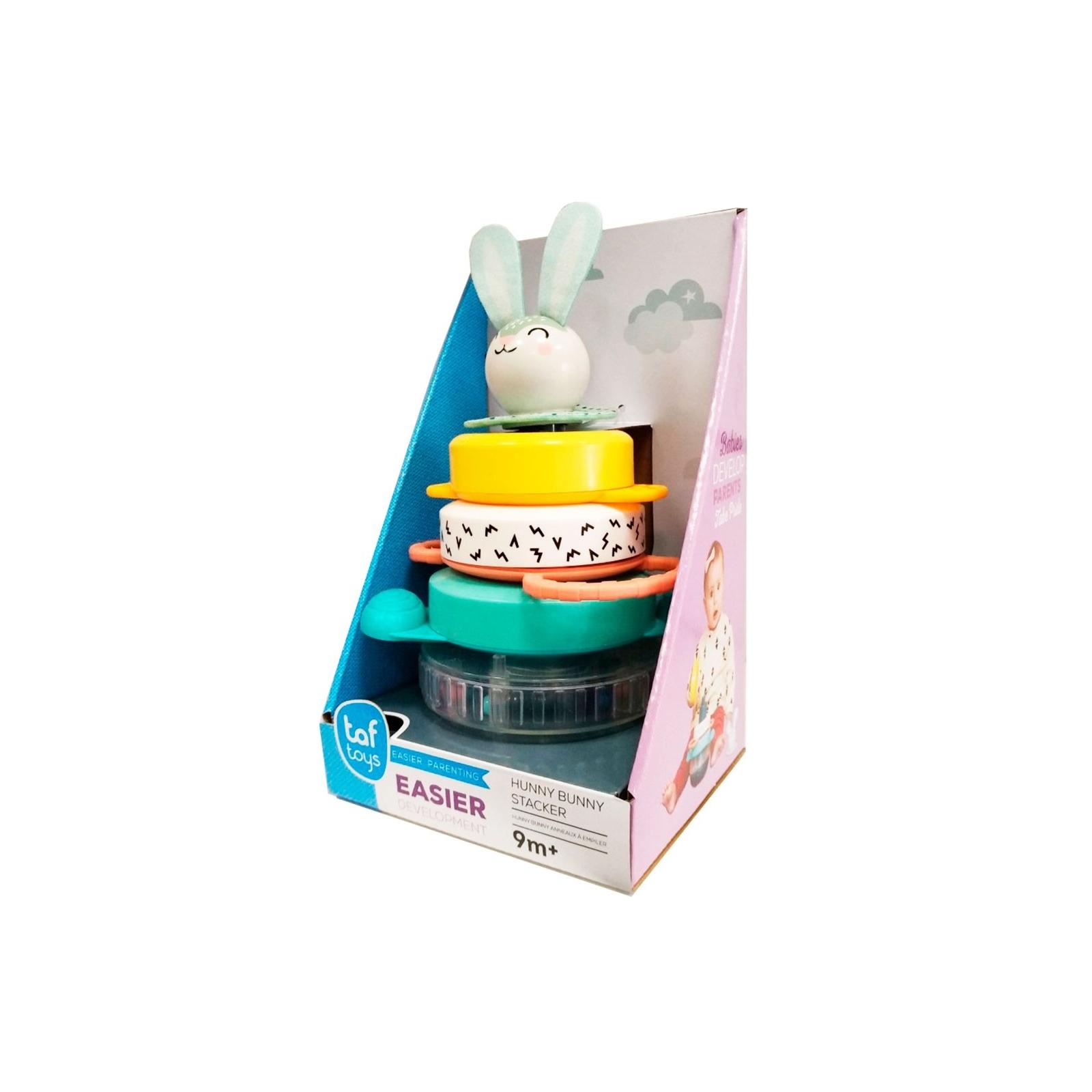 Развивающая игрушка Taf Toys пирамидка Кролик коллекция Полярное сияние (12445) изображение 3