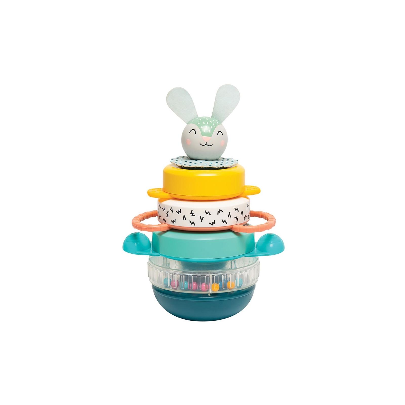 Развивающая игрушка Taf Toys пирамидка Кролик коллекция Полярное сияние (12445)