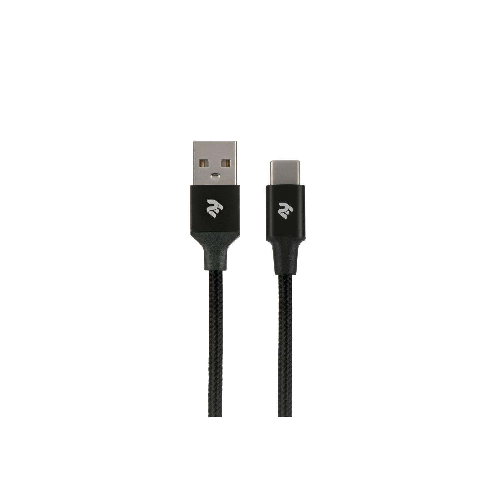 Дата кабель USB 2.0 AM to Type-C 1.0m Alumium Shell Cable 2E (2E-CCTAL-1M)
