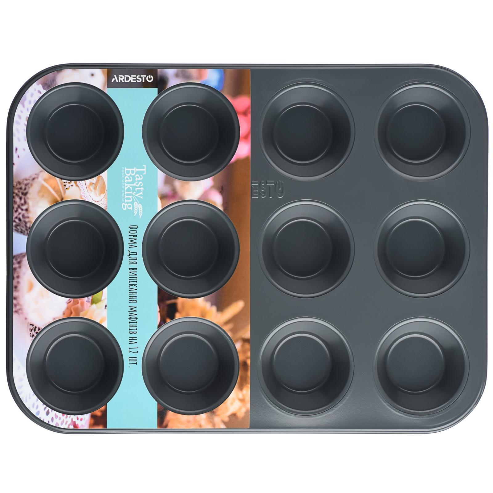 Форма для випікання Ardesto Tasty Baking для мафінів 12 комірок 35х2 (AR2305T)