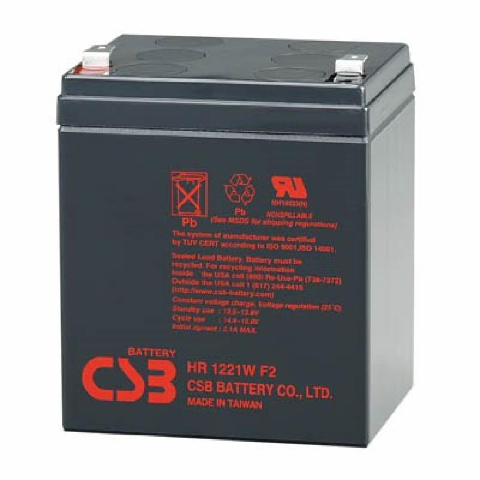 Батарея к ИБП 12В 5 Ач CSB (HR1221W)