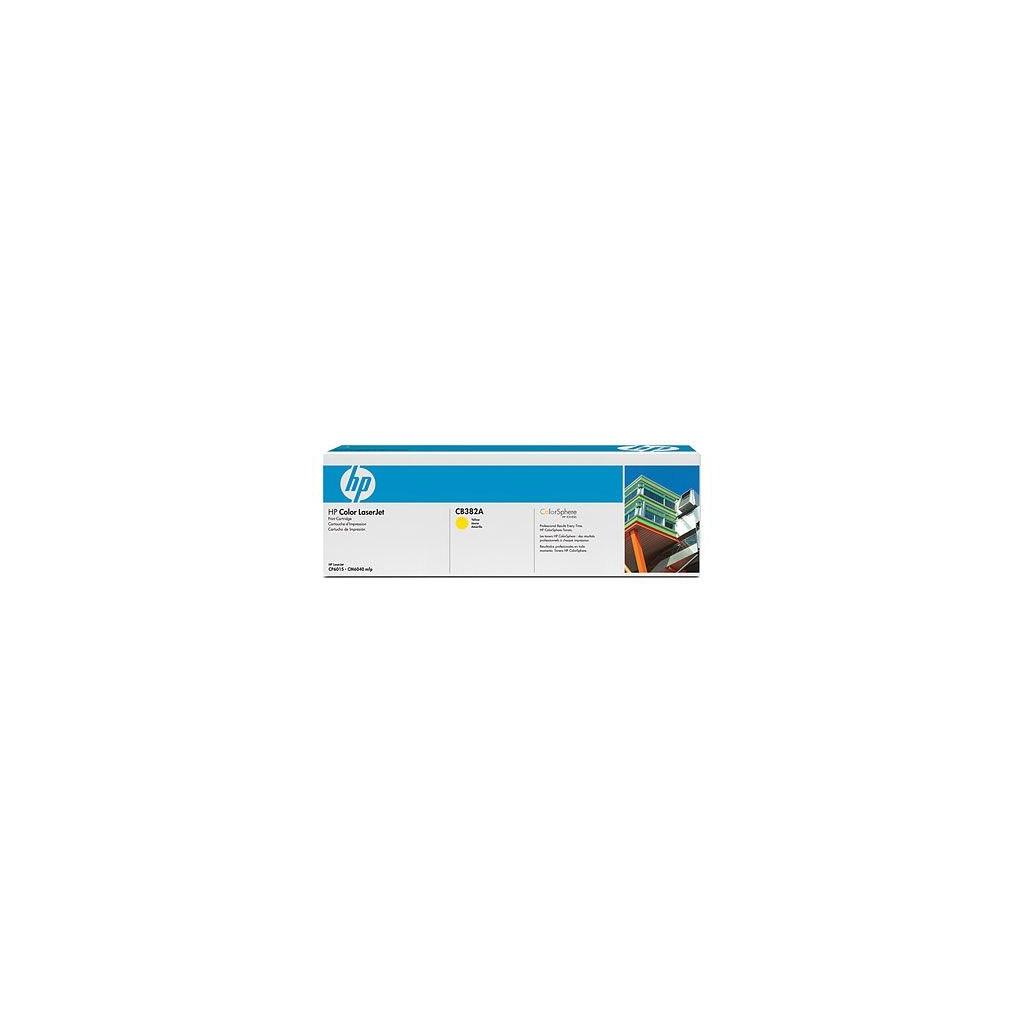 Картридж HP CLJ CP6015/CM6030/CM6040mfp Yellow (CB382A)