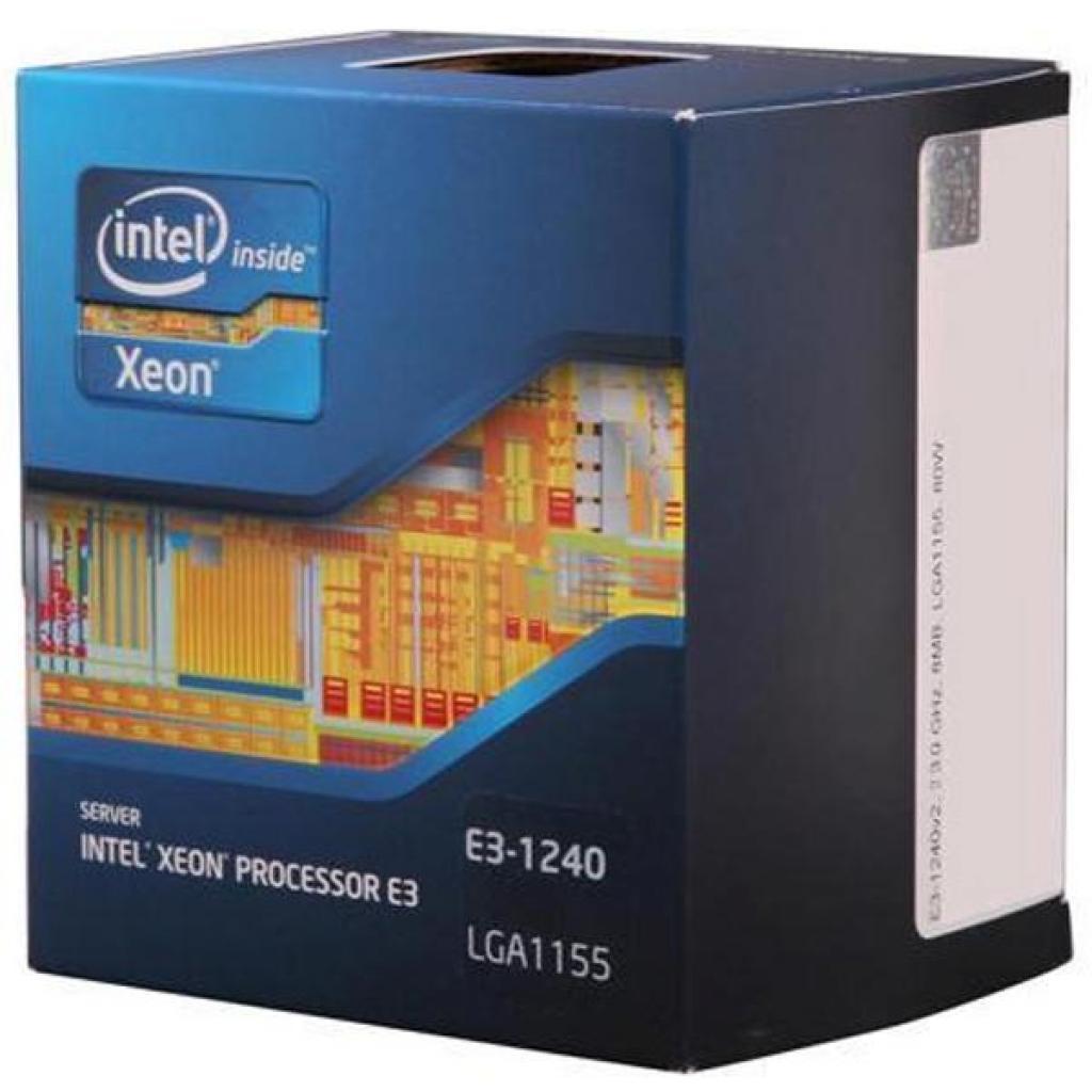 Процессор серверный INTEL Xeon E3-1240 (BX80623E31240)