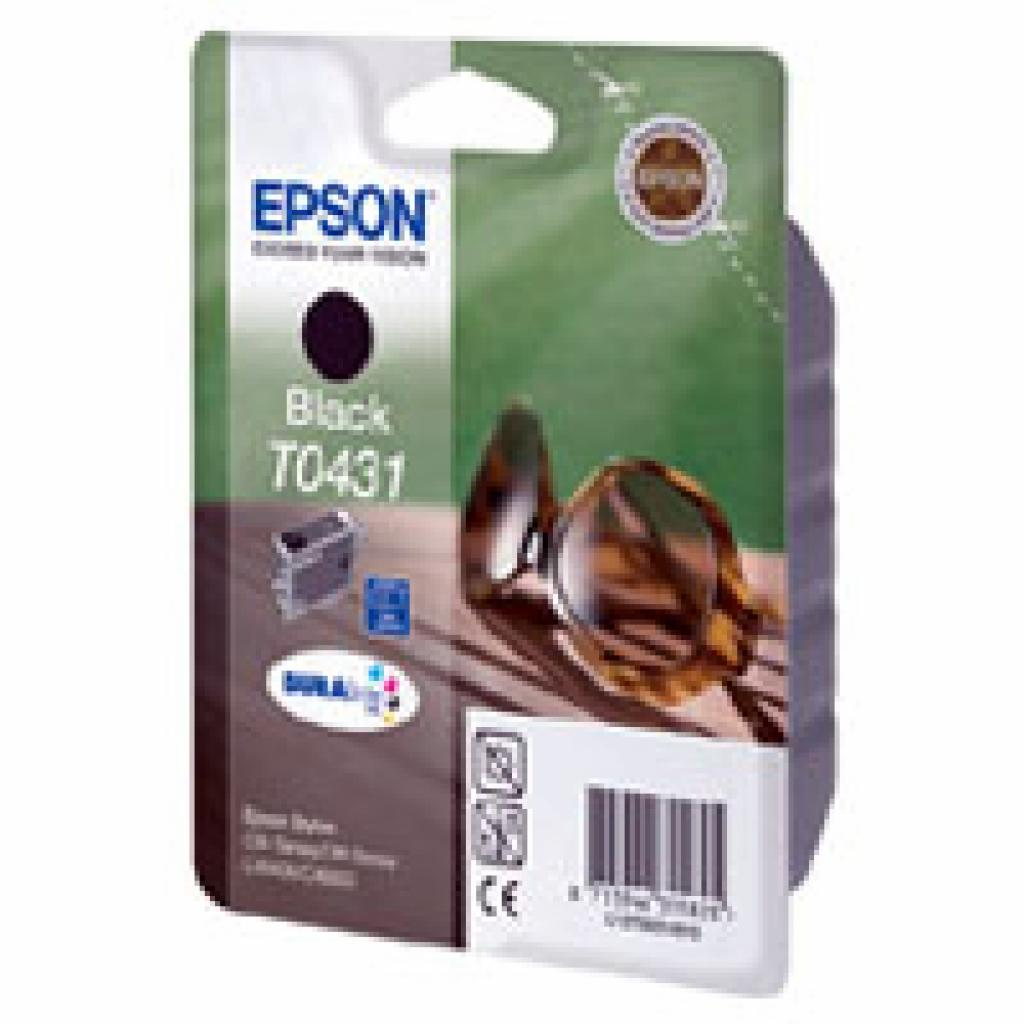 Картридж EPSON St C84/86/64/66, CX6400/ 6600 black (C13T04414010)