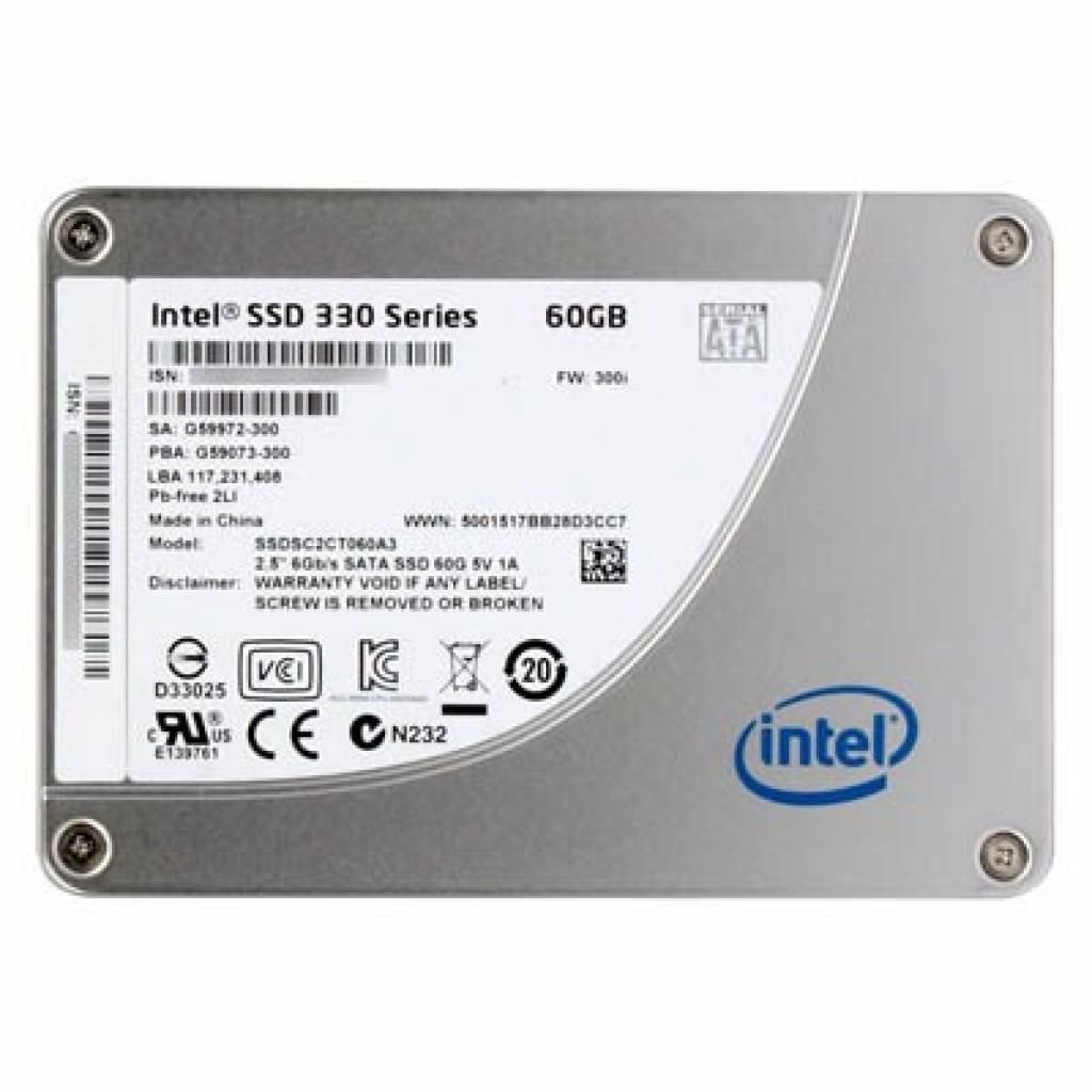 "Накопитель SSD 2.5""  60GB INTEL (SSDSC2CT060A3K5)"