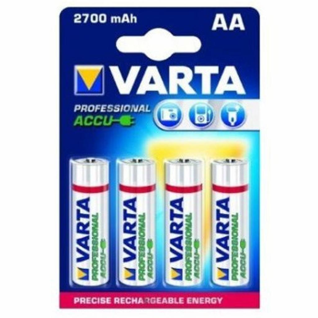Аккумулятор Varta Rechargeable Accu 2700mAh (4шт.) (5706301404)