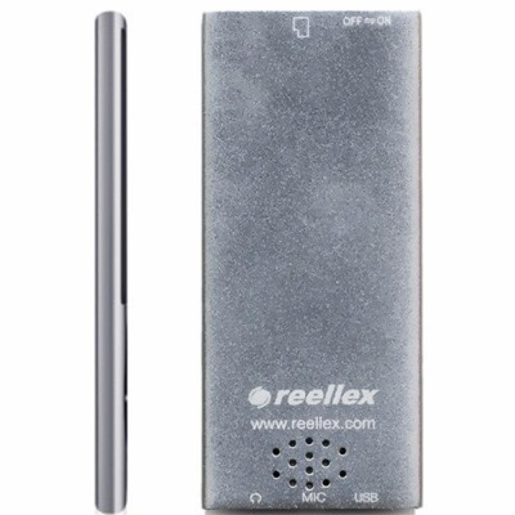 mp3 плеер Reellex UP-44 4GB Silver (UP-44 Silver) изображение 2