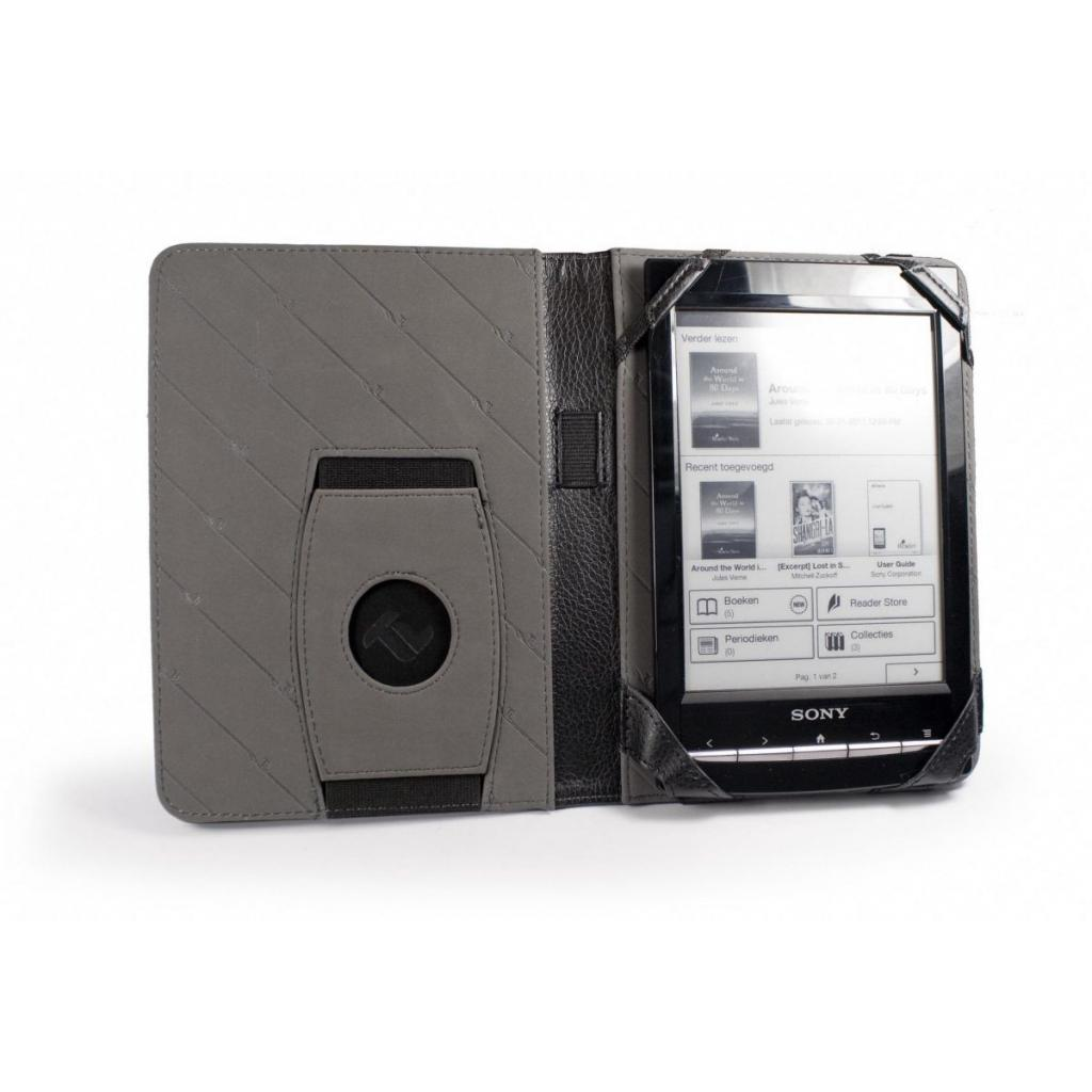 Чехол для электронной книги Tuff-Luv 6 Embrace faux leather/Black (C4_55) изображение 2