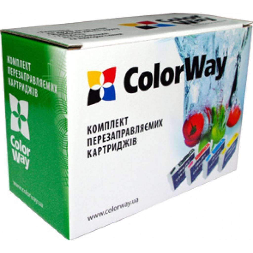 Комплект перезаправляемых картриджей ColorWay HP №950 (1pigm+3x100) (H950RC-4.1P)