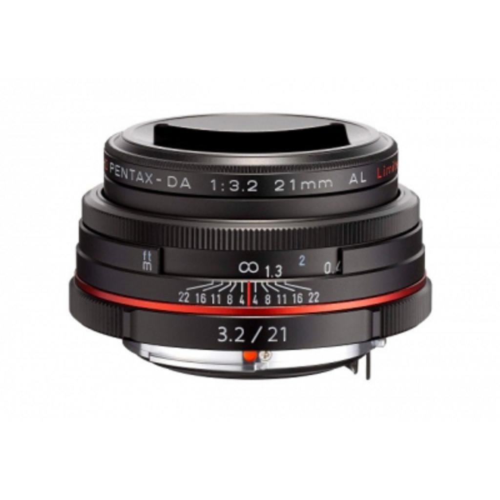 Объектив Pentax HD DA 21mm f/3.2 AL Limited Black (21410) изображение 2