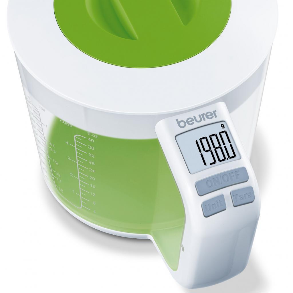 Весы кухонные BEURER KS 41 (4211125/705.25/1) изображение 3