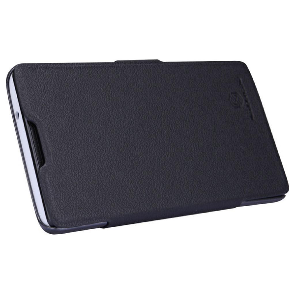 Чехол для моб. телефона NILLKIN для Huawei G700/Fresh/ Leather/Black (6076853) изображение 2