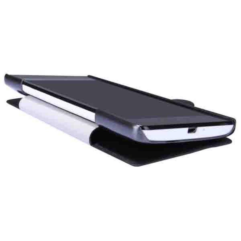 Чехол для моб. телефона NILLKIN для Huawei G700/Fresh/ Leather/Black (6076853) изображение 3